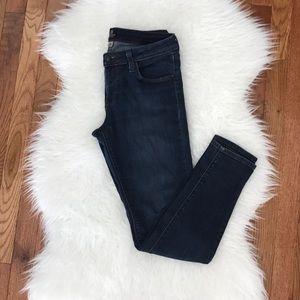 Lulus Just Black skinny blue jeans size 28